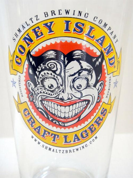 Other Cup or Mug Default Coney Island Craft Lagers Shmaltz Brewing Company Pint Glass