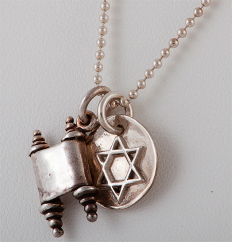 Torah and Star Shield Necklace by Other - ModernTribe