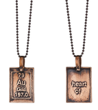 Heart of Gold | Periodic Table of Elements Necklaces by Marla Studio - ModernTribe - 4