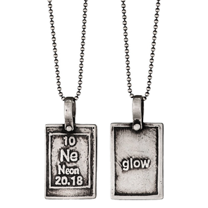 Neon-Glow | Periodic Table of Elements Necklaces by Marla Studio - ModernTribe