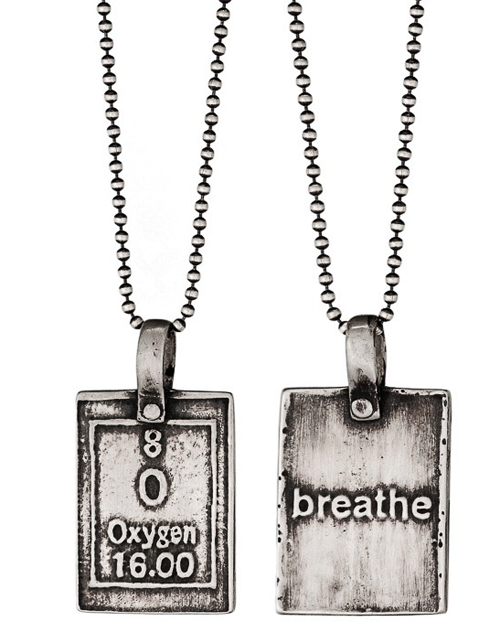 Oxygen breathe periodic table of elements necklaces moderntribe oxygen breathe periodic table of elements necklaces urtaz Image collections