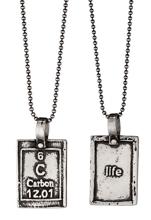 Carbon Life Periodic Table Of Elements Necklaces Moderntribe