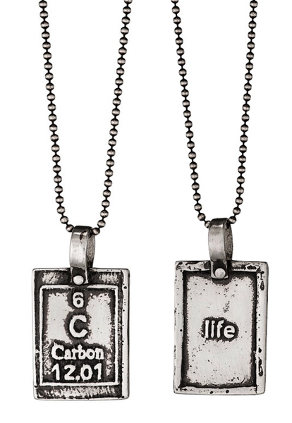 Marla Studio Necklaces Carbon-Life Periodic Table of Elements Necklace by Marla Studio