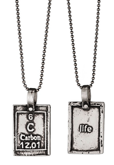 Carbon-Life | Periodic Table of Elements Necklaces by Marla Studio - ModernTribe - 1