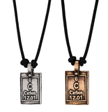 Carbon-Life | Periodic Table of Elements Necklaces by Marla Studio - ModernTribe - 3