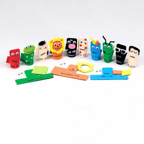Passover Finger Puppet Kit - Ages 4+ by Rite Lite - ModernTribe - 1