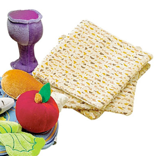 Rite Lite Other Default Plush Matzahs and Kiddush Cup