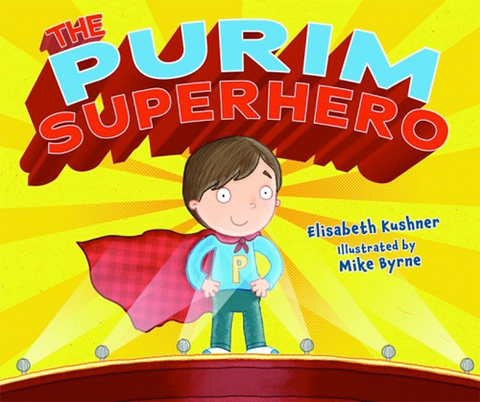 The Purim Superhero by Baker & Taylor - ModernTribe