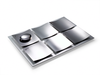 Dune Seder Plate - Stainless Steel by Laura Cowan - ModernTribe - 3