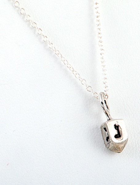 Other Necklaces Silver Tiny Dreidel Pendant
