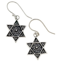 Afghan-Jewish Inspired Star of David Earrings by Jewish Museum - ModernTribe