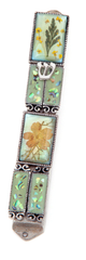 Flower Encased Mezuzah by Copa Judaica - ModernTribe