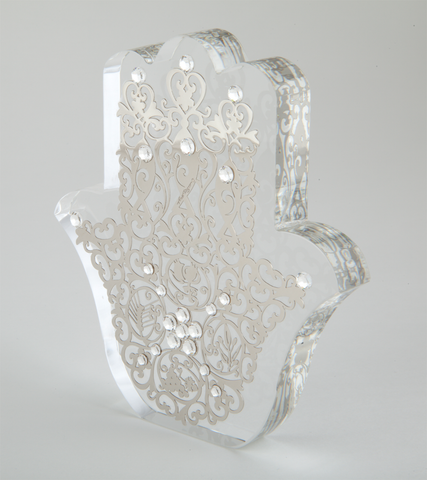 Filigree Standing Hamsa by Anat Mayer by Anat Mayer - ModernTribe