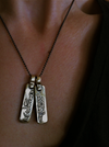 I Am My Beloved Necklace For Two By Marla Studio - Silver or Bronze - ModernTribe