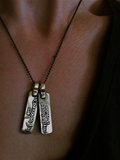 I Am My Beloved Necklace For Two By Marla Studio by Marla Studio - ModernTribe - 3