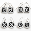 Sterling Silver Vignette Earrings - ModernTribe