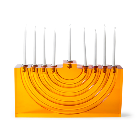 Bel Air Menorah by Jonathan Adler - Orange by Jonathan Adler - ModernTribe