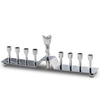 Muriel Flower Menorah by Mary Jurek by Mary Jurek - ModernTribe