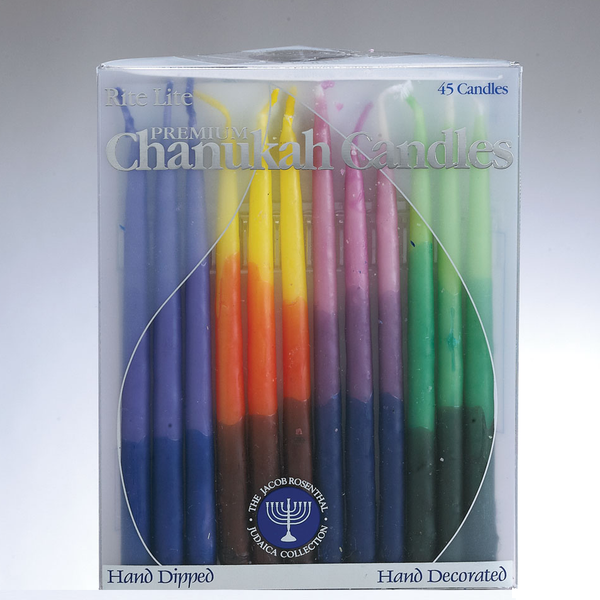 Rite Lite Candles Default Multicolored Hanukkah Candles