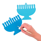 Magic Scratch Foil Menorahs - Ages 3 to 9 by Fun Express - ModernTribe - 2