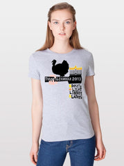 Thanksgivukkah T-Shirts - Misses Cut by ModernTribe - ModernTribe