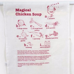 Magical Chicken Soup Tea Towel by Barbara Shaw - ModernTribe