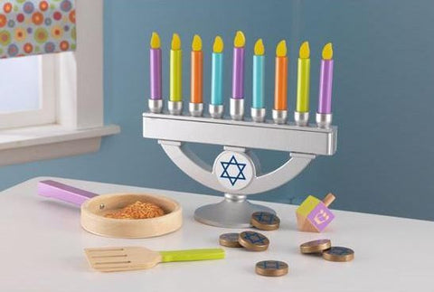 My Own Chanukah Set with Latkes - Ages 3+ by Kid Kraft - ModernTribe - 1