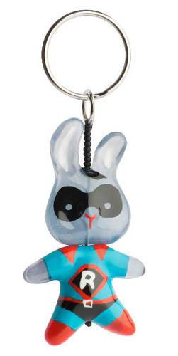 Super Bunny Key Rings by Orna Lalo - ModernTribe