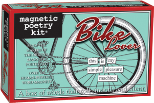 Bike Lover's Poetry Magnets by Magnetic Poetry - ModernTribe - 1