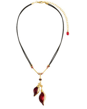 Orna Lalo Necklaces Red Lalo Treasures- Future Currents II Pendant