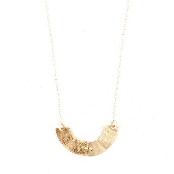 by boe Necklaces Gold Collar Necklace by Boe