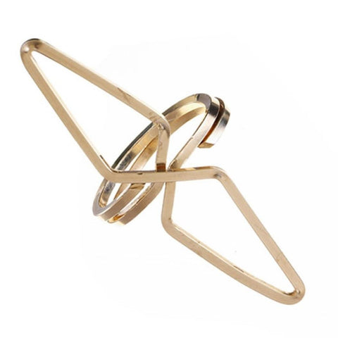Odyssey Ring in Gold by boe by by boe - ModernTribe - 1
