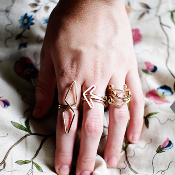 Odyssey Ring in Gold by boe by by boe - ModernTribe - 2