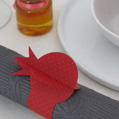 Pomegranate Napkin Rings by Chic Mango - ModernTribe - 1