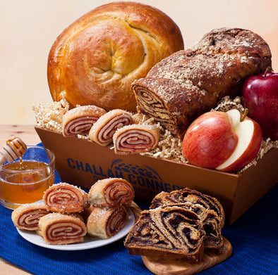 Rosh Hashanah Traditions Basket
