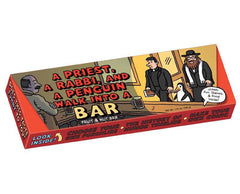 A Priest, a Rabbi, and a Penguin Walk into a BAR - Fruit & Nut Bar by Unemployed Philosopher's Guild - ModernTribe - 1