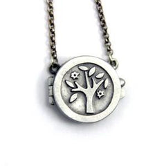 Tree of Life Locket by Emily Rosenfeld by Emily Rosenfeld - ModernTribe - 1