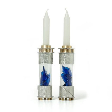 Round Wedding Shard Candleholders by Joy Stember by Joy Stember - ModernTribe - 1