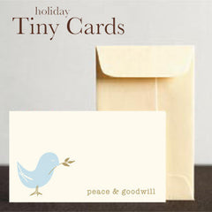 Dove Peace & Goodwill Tiny Cards by Other - ModernTribe - 1