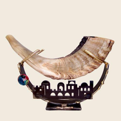 Jerusalem Shofar Holder by Gary Rosenthal