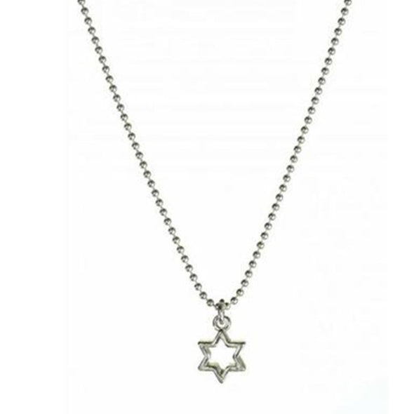 Star of David Outline Necklace - ModernTribe