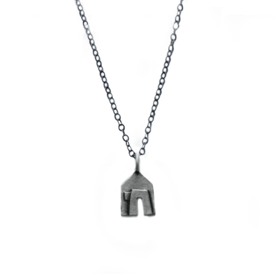 House and Chai Necklace by Emily Rosenfeld - ModernTribe