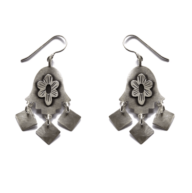Folklorica Hamsa Earrings by Emily Rosenfeld - ModernTribe