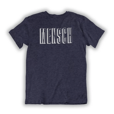 Mensch Men's T-shirt - Navy