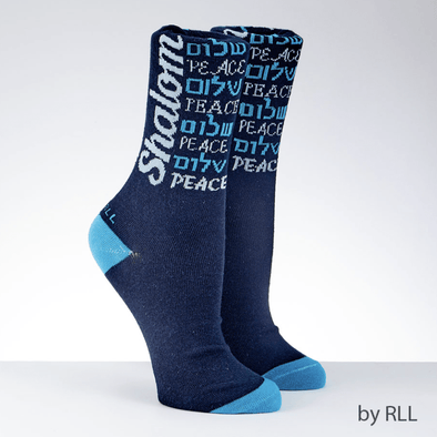 Shalom Adult Crew Socks