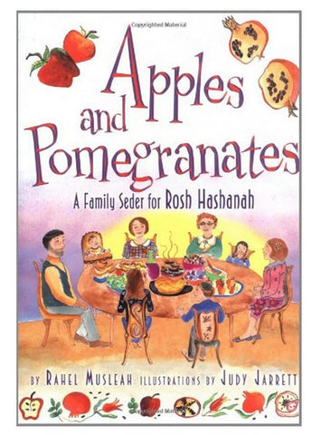 Apples and Pomegranates - A Family Seder for Rosh Hashanah Book by Baker & Taylor - ModernTribe
