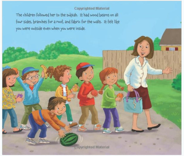 A Watermelon in the Sukkah by Sylvia A. Rouss - Ages 3-8 by Baker & Taylor - ModernTribe - 3