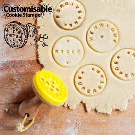 Suck UK Kitchen Utensils Custom Cookie Stamp