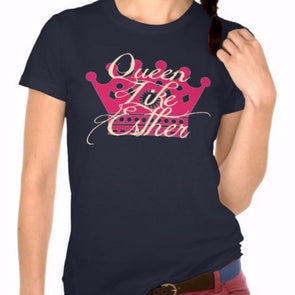 Queen Like Esther Purim T-Shirt by Merchify.com - ModernTribe - 1