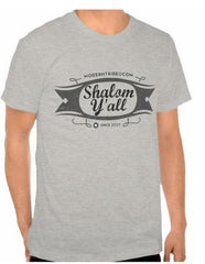 Shalom Y'all T-Shirt by ModernTribe - ModernTribe - 1